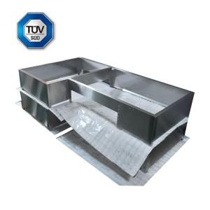 High precisoin bending work fabrication Stainless Steel welding Sheet Metal welding